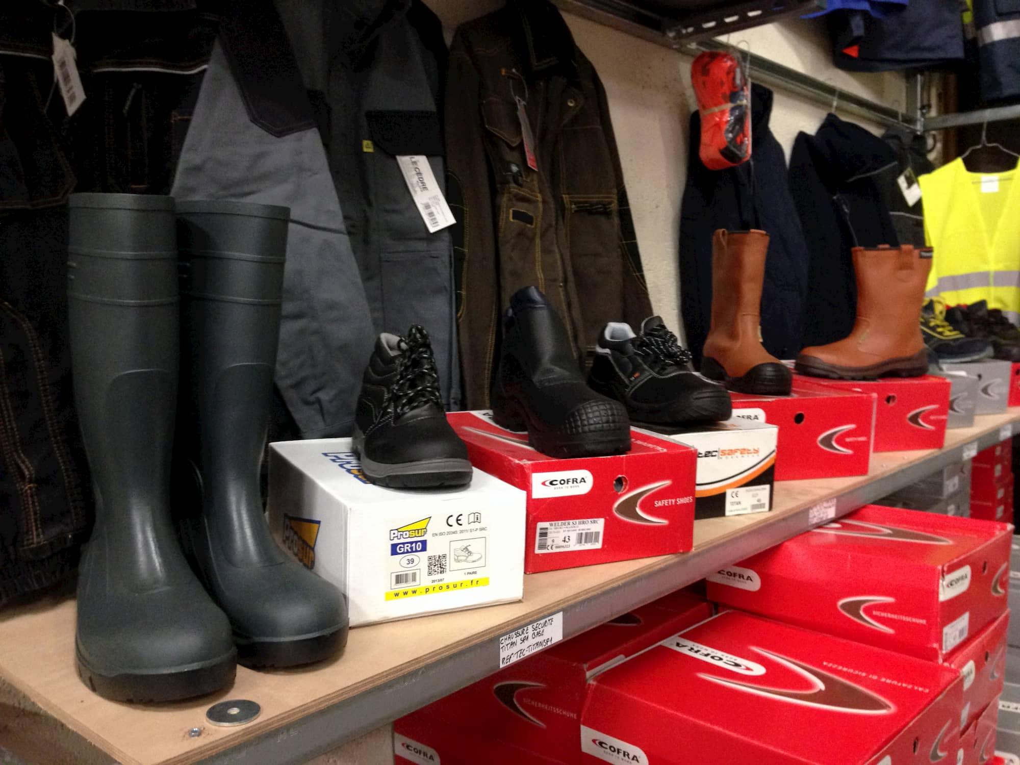 FIBC Dreux - Une gamme complète de chaussures de sécurité et bottes pour le professionnel
